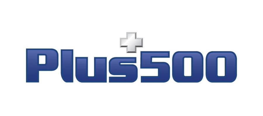 plus 500 logo grand