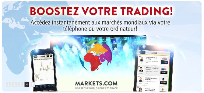 markets trading en ligne